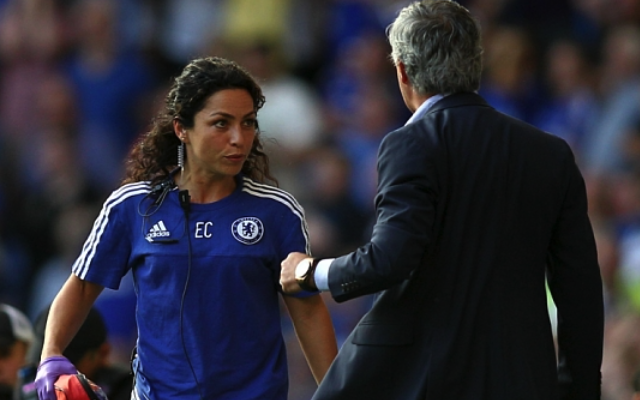 Watch Chelsea boss Jose Mourinho avoid questions on Eva Carneiro (video)