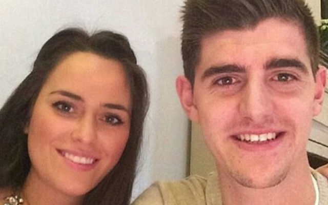 Chelsea goalkeeper Thibaut Courtois CHEATED on girlfriend Marta Dominguez with Miss Belgium babe