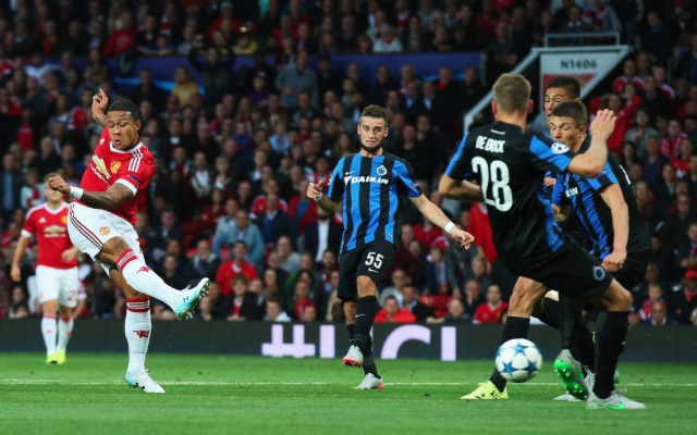Man United 3-1 Club Brugge: Depay double saves Red Devils from Champions League scare (video)