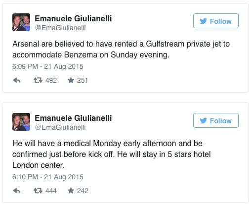 Emanuele Giulianelli tweets