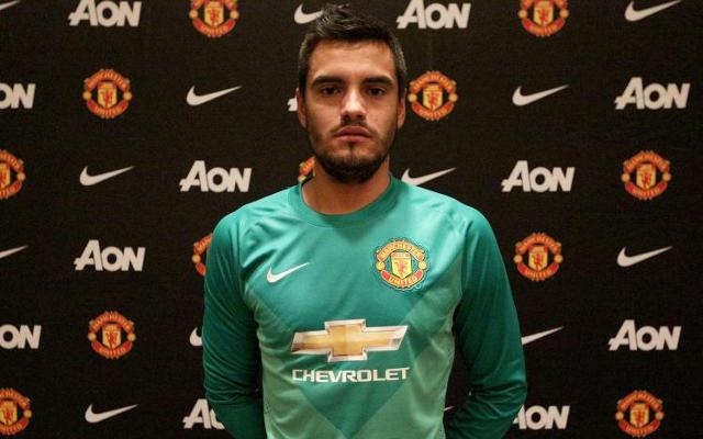 Sergio Romero Man United