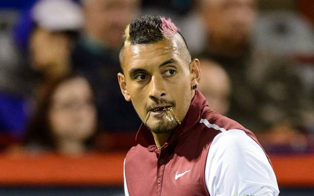 Video: Nick Kyrgios hits new low as he makes sexual slur against Stan Wawrinka's girlfriend during match