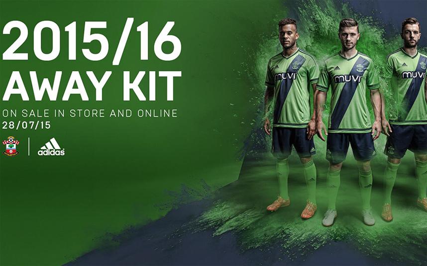 southampton away kit 2015-16