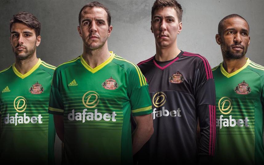 sunderland away kit 2015-16