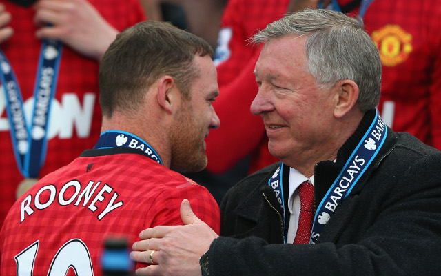 Man United ace Wayne Rooney OPENS UP on relationship with Sir Alex Ferguson