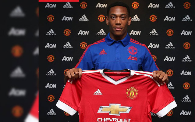 Private: Anthony Martial: Man United deadline day SWOOP could cost Red Devils a STAGGERING £58m
