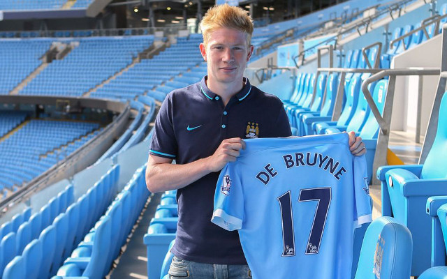 New Man City signing Kevin de Bruyne makes bold claim ahead of full debut against West Ham (video)