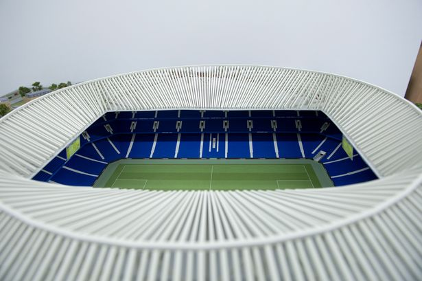 New Stamford Bridge model