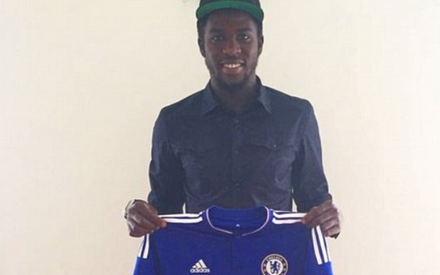 PICTURE: New Chelsea signing poses in Blues KIT on Instagram