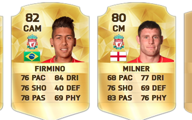 Liverpool best XI according to FIFA 16: Cover star Henderson scrapes in, Firmino & Lallana miss out