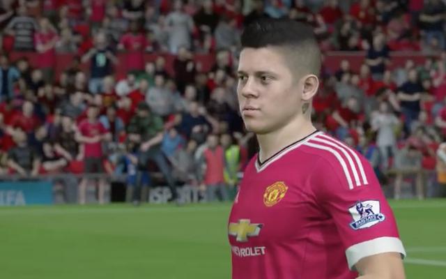 Marcos Rojo FIFA 16
