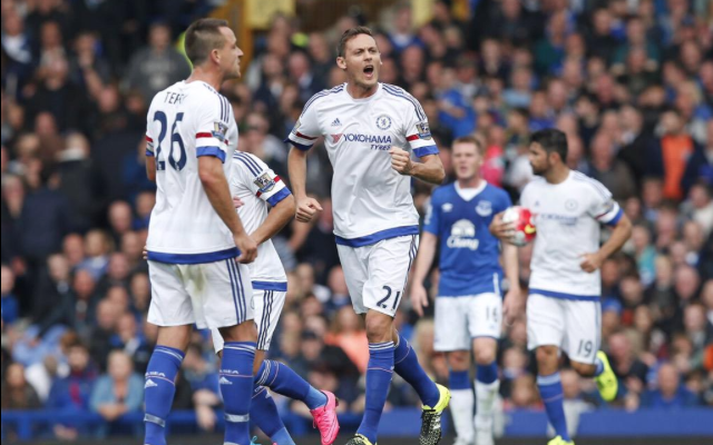 Nemanja Matic goal video: Serbian scores screamer to give Chelsea hope at half time against Everton