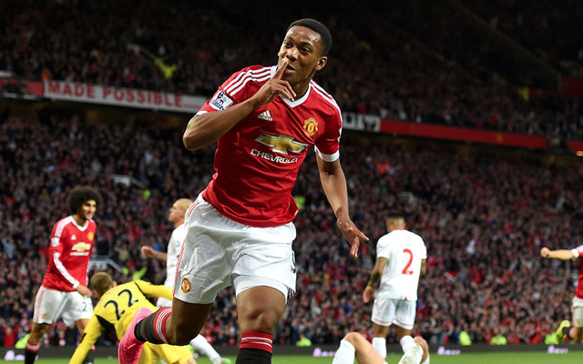 Man United stars PRAISE Anthony Martial after debut score against Liverpool