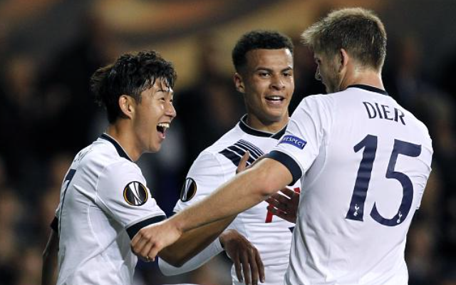 Tottenham player ratings from 3-1 Europa League win: Two-goal Son outshone by outstanding Alli