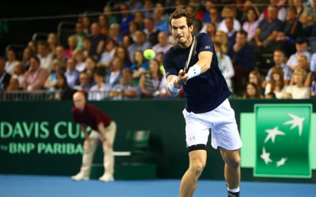 (Video) Andy Murray books Great Britain's spot in Davis Cup final