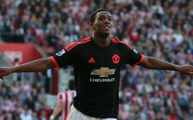 (Video) Anthony Martial header rescues Man United Champions League draw after bizarre Van Gaal selection