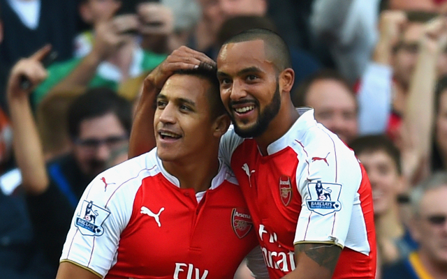 Theo Walcott proving that he deserves Arsenal starting spot (video)
