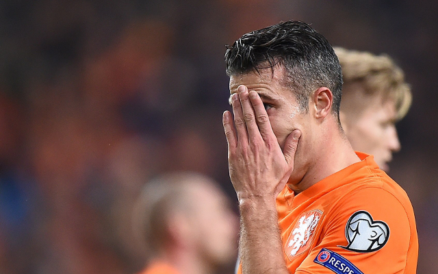 Robin van Persie won't quit Netherlands career despite Euro 2016 heartbreak (video)