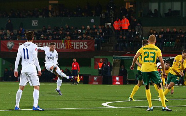 Ross Barkley goal video: Lithuania 0-1 England – Everton star continues to shine on international stage