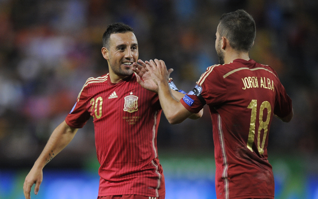 Mario Gaspar scores stunning goal as Arsenal star wraps up Spain win (video)