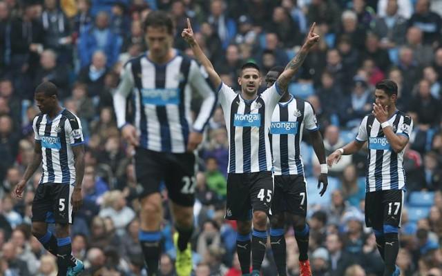 Aleksandar Mitrovic goal video: Manchester City 0-1 Newcastle – Pellegrini's men trail again