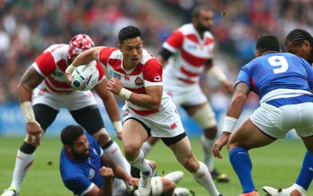 (Video) Japan miracle continues with 26-5 win over Samoa at Rugby World Cup 2015