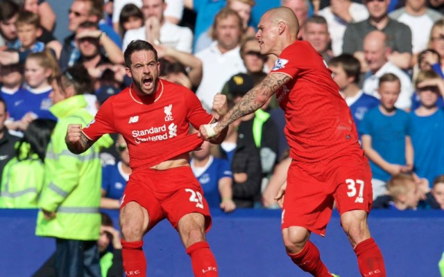 Danny Ings goal video: Everton 1-1 Liverpool – Reds pegged back in feisty Merseyside derby