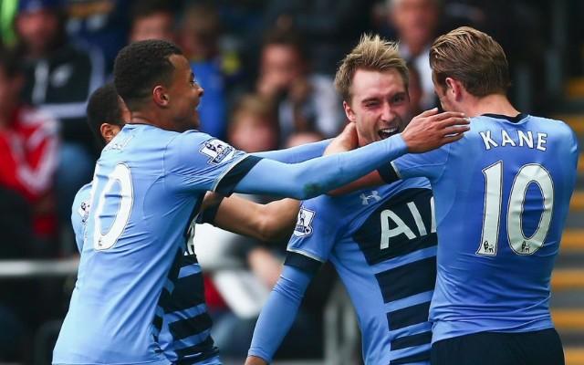Christian Eriksen goal video & Tottenham player ratings from 2-2 Swansea draw: Superb Dane, poor Kane