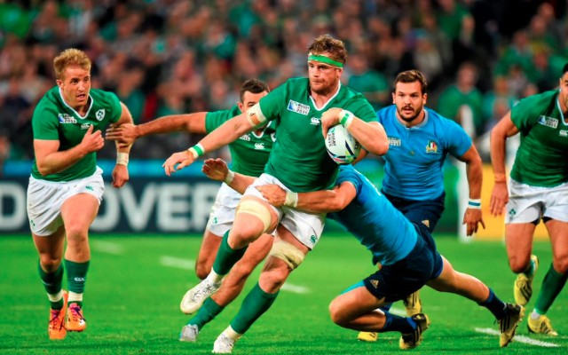 (Video) Last-gasp tackle helps Ireland book Rugby World Cup 2015 quarter-final spot with win over Italy