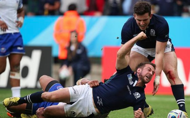 (Video) Scotland through to Rugby World Cup 2015 quarter-finals after beating Samoa in high-scoring classic