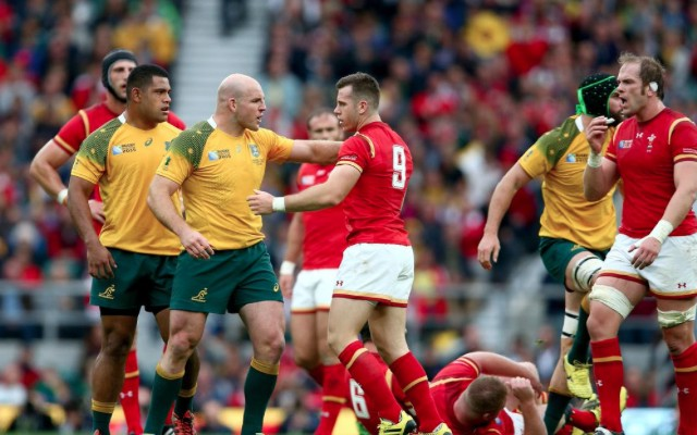 (Video) Australia secure top spot in Pool A with 15-6 win over Wales in Rugby World Cup 2015 slugfest