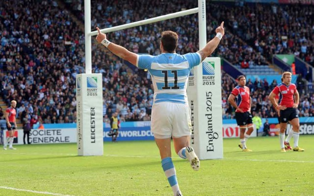 (Video) Argentina await quarter-final opponents after thrashing spirited Namibia at Rugby World Cup 2015