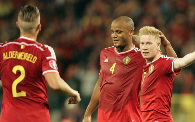 Kevin de Bruyne goal video: Man City & Chelsea stars send Belgium top of FIFA rankings with Israel win