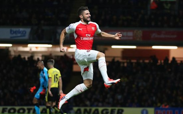 Olivier Giroud goal video & report: Watford 0-3 Arsenal – Classy Gunners wear down local rivals
