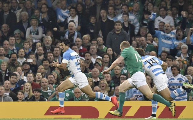 (Video) Awesome Argentina shock Ireland to reach semi-finals of Rugby World Cup 2015