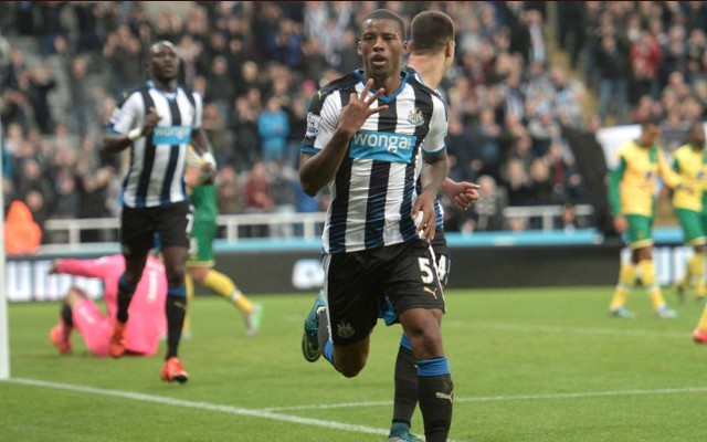 Georginio Wijnaldum hat-trick video: Newcastle 6-2 Norwich – Four-goal hero eases pressure on McClaren