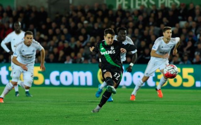 (Video) Swansea 0-1 Stoke: Potters climb table with third straight win as Swans slip up again