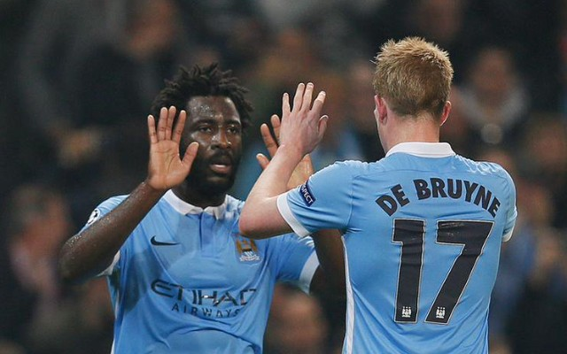 (Video) Bony proves there is life without Aguero for Man City after Toure magic in Champions League
