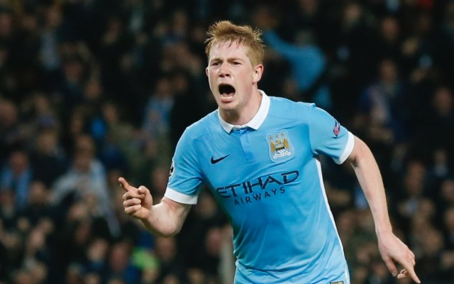 (Video) £55m man De Bruyne comes up trumps for Man City with last-gasp winner in Champions League