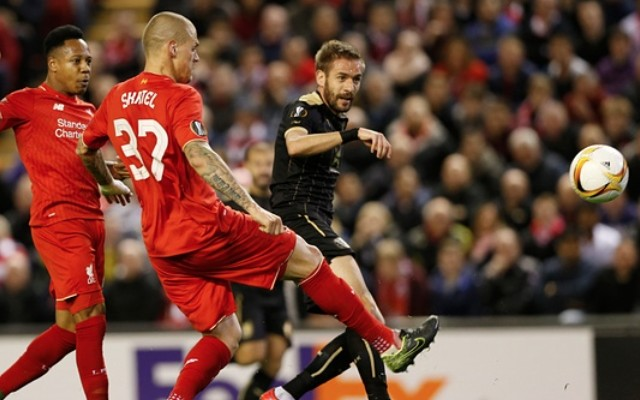 Marko Devic goal video: Liverpool fall behind on Klopp's home debut, Rubin striker tells Anfield to shush