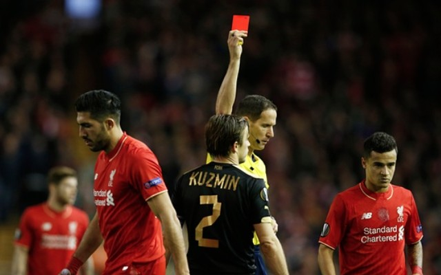 Emre Can goal video: Rubin red card punished immediately as Liverpool fight back on Klopp's Anfield debut