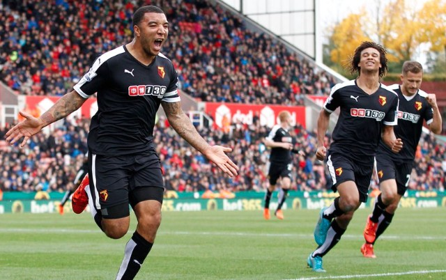 (Video) Watford's Troy Deeney takes cheeky dig at Arsenal legend after ending Premier League drought