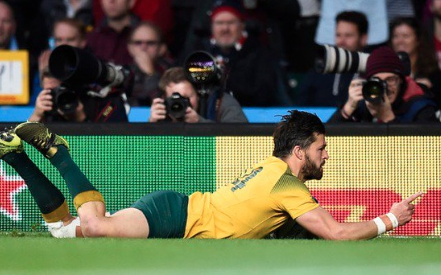 (Video) Unbelievable Drew Mitchell run provides Ashley-Cooper with try which seals Australia's RWC final berth