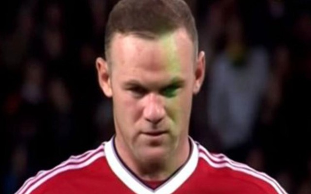 (Video) Wayne Rooney targeted by laser before missing penalty in Man United's shock League Cup exit