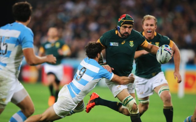 (Video) South Africa & Argentina at each other's throats in feisty Rugby World Cup 2015 third-place playoff win for Springboks