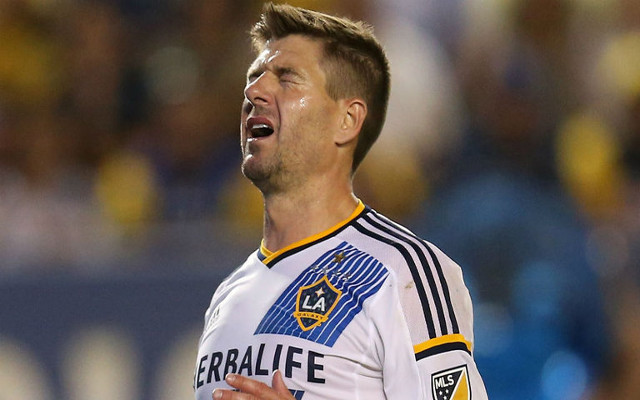 (Video) Steven Gerrard's league title woes continues as Seattle Sounders goal sends him home