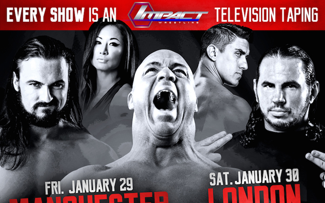Nine new TNA stars announced for January's UK Tour Extravaganza