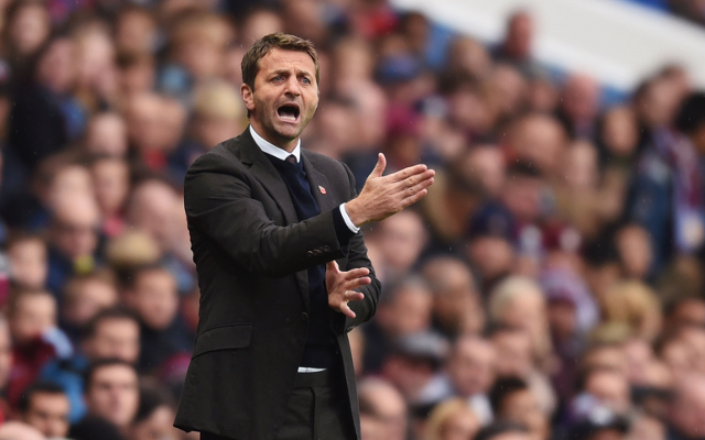 (Video) Andre Ayew piles further misery on Tim Sherwood as Aston Villa boss edges closer to sacking