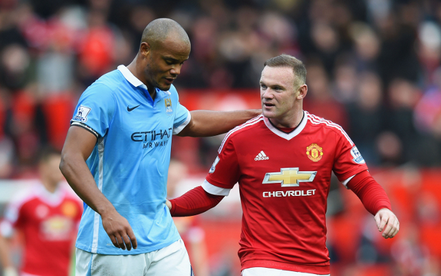 (Video) Wayne Rooney suffers nasty head injury in awful opening half of Manchester derby