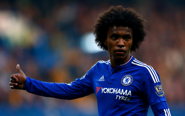 (Video) Willian's brilliant free kick sums up Chelsea's luck as Blues are held in Kiev